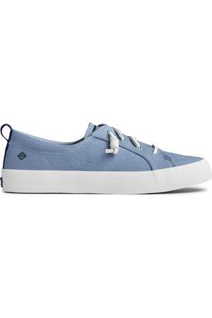 Sperry Top-Sider Women Sneakers - Women's Sperry Crest Vibe Seasonal Twill Sneaker BlueSky, Size 5M