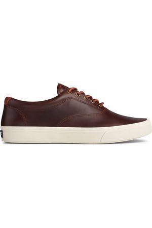 Sperry Top-Sider Men Sneakers - Men's Sperry Striper PLUSHWAVE CVO Leather Sneaker DarkBrown, Size 8M