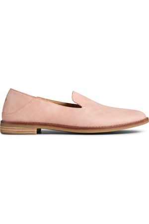 Sperry Top-Sider Women's Sperry Seaport Levy Starlight Leather Loafer Blush, Size 5.5M