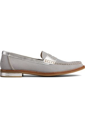 Sperry Top-Sider Women's Sperry Seaport PLUSHWAVE Loafer Grey, Size 5.5M