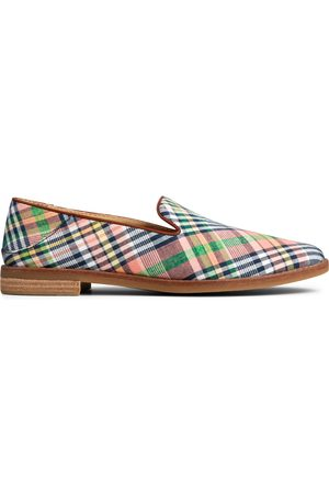 Sperry Top-Sider Women Loafers - Women's Sperry Seaport Levy Washed Plaid Loafer KickBackPlaid, Size 5M