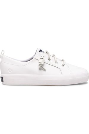 Sperry Top-Sider Sperry Kids Crest Vibe Junior Sneaker AllWhite, Size 5M