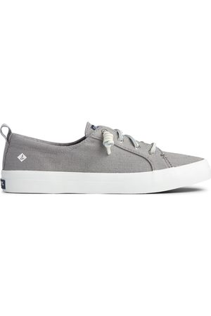 Sperry Top-Sider Women's Sperry Crest Vibe Sneaker Grey, Size 6W