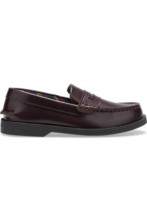 Sperry Top-Sider Loafers - Sperry Kids Colton PLUSHWAVE Dress Shoe Burgundy, Size 1M