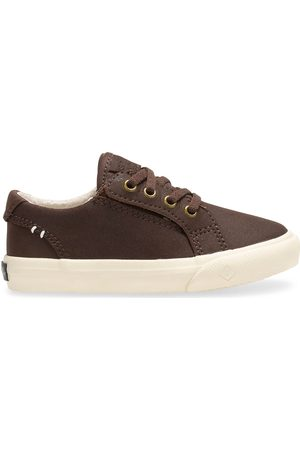 Sperry Top-Sider Sperry Kids Striper II Junior Sneaker Kahlua, Size 5M