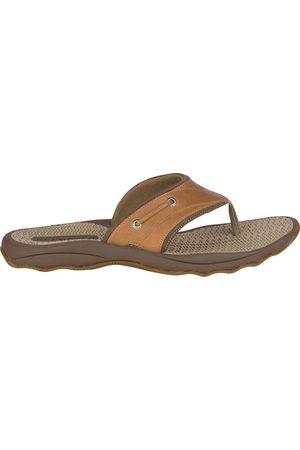 Sperry Top-Sider Men Flip Flops - Men's Sperry Outer Banks Flip Flop Tan, Size 7M