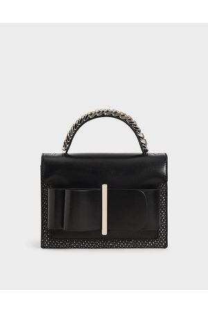 CHARLES & KEITH Bow Top Handle Bag