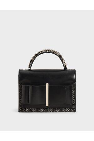 CHARLES & KEITH Bow Top Handle Bag