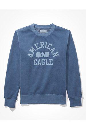 American Eagle Outfitters Men Sweatshirts - Super Soft Fleece Crew Neck Sweatshirt Men's XS