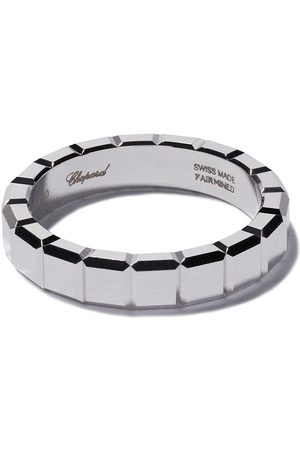 Chopard Rings - 18kt white gold Ice Cube ring