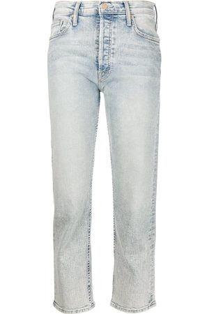 Mother Women High Waisted - Tomcat high-rise straight jeans