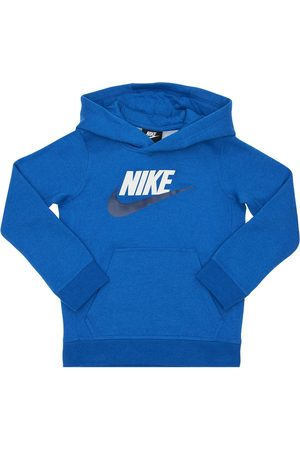 Nike Girls Hoodies - Cotton Blend Sweatshirt Hoodie