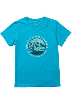 Merrell Women Short Sleeve - Women's Unlikely Hikers X Short Sleeve Tee, Size: XL