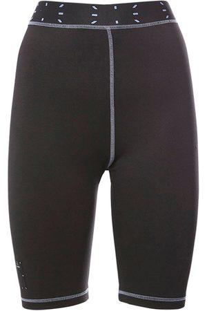 McQ Collection 0 Tech & Jersey Biker Shorts