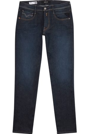 Replay Anbass Hyperflex dark blue slim-leg jeans