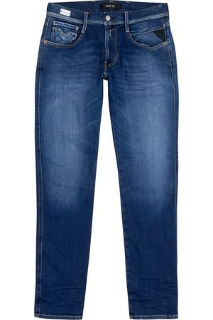 Replay Men Slim - Anbass Hyperflex slim-leg jeans