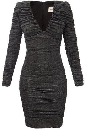 ALEXANDRE VAUTHIER Women Casual Dresses - Ruched Lamé Jersey Dress - Womens