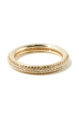 Otiumberg Diamond And Recycled 9kt-gold Ring - Womens - Light