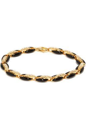 Melissa Kaye Women Bracelets - Ada Diamond, Enamel & 18kt Gold Bracelet - Womens