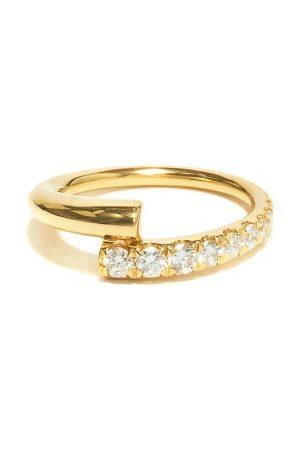 Melissa Kaye Lola Diamond & 18kt Ring - Womens