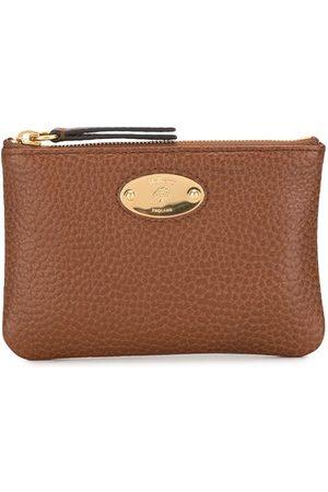 MULBERRY Logo plaque leather purse