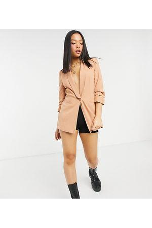 ASOS Blazers - ASOS DESIGN Petite mix & match suit blazer in blush