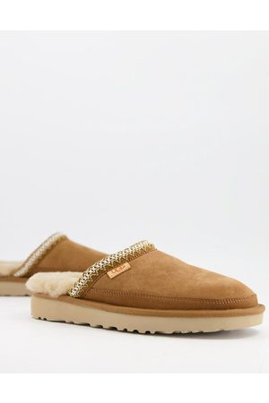 UGG Sweats - Tasman scuff slippers in tan