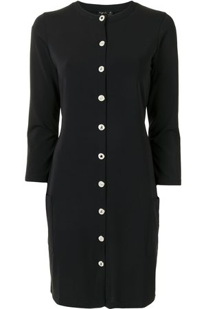 AGNÈS B. Button-front jersey dress