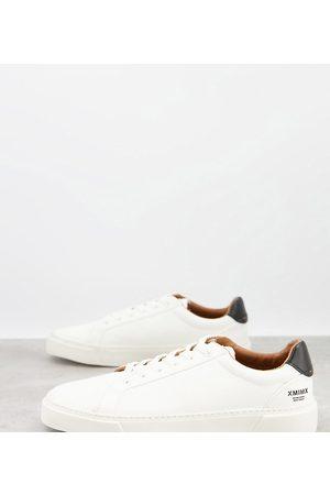 ASOS Wide Fit sneakers in texture