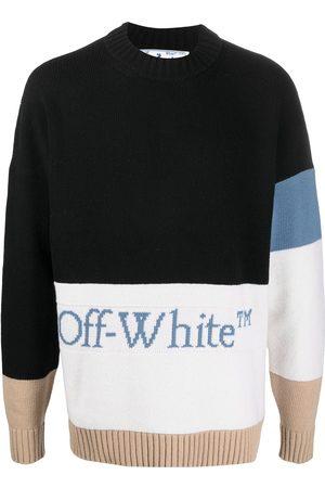 OFF-WHITE Colour-block logo jumper