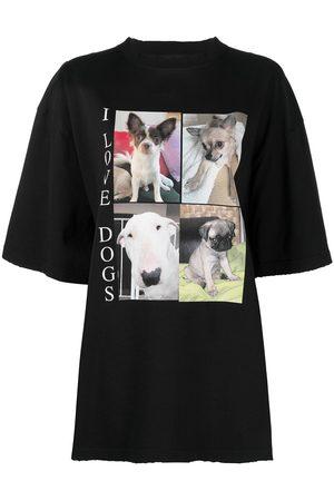 Balenciaga I Love Dogs prined T-shirt