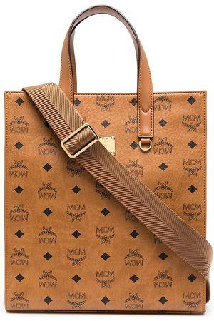 MCM Men Bags - Klassik monogram-print tote bag
