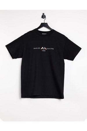 Parlez Jetty embroidered T-shirt in