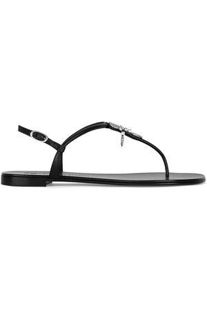 Giuseppe Zanotti Sagitta leather sandals