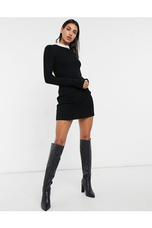 & OTHER STORIES & frill neck mini dress in