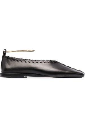 Jil Sander Ankle-bracelet ballerina shoes