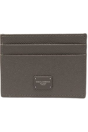 Dolce & Gabbana Men Wallets - Logo-plaque cardholder