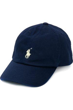 Ralph Lauren Kids Embroidered logo baseball cap