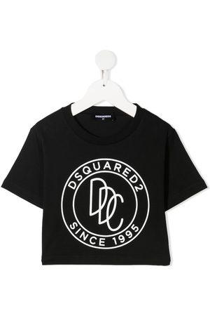 Dsquared2 Logo-print crop top