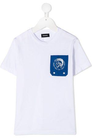 Diesel TLars chest pocket cotton T-shirt