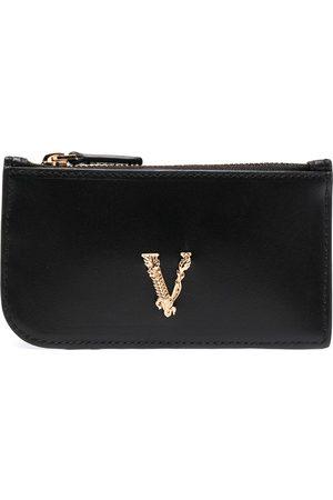 VERSACE Virtus zipped cardholder