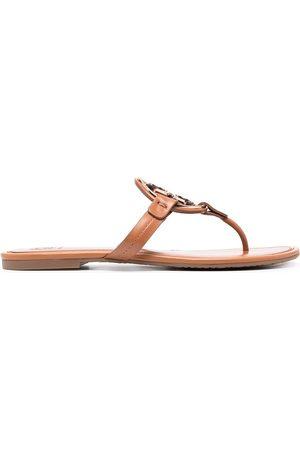 Tory Burch Miller metal-logo sandals