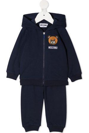 Moschino Teddy Bear logo tracksuit