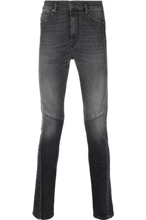 Diesel D-Amny mid-rise slim-fit jeans - Grey