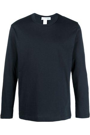 Comme des Garçons Men Long Sleeve - Longsleeved cotton T-shirt