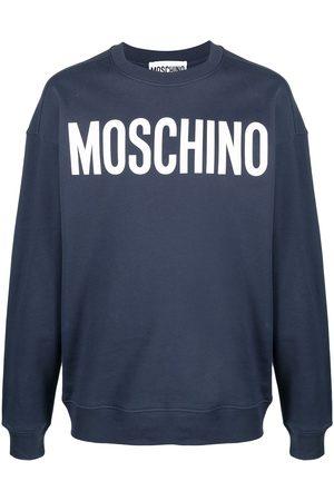 Moschino Logo print oversized sweatshirt