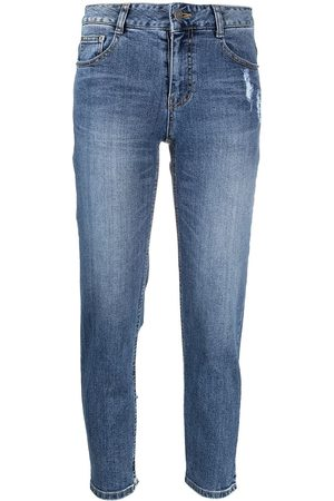 SJYP Ripped detail skinny jeans