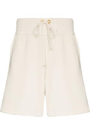 Les Tien Yacht cotton track shorts - Neutrals
