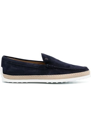 Tod's Slip-on suede loafers