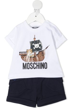 Moschino Graphic-print two-piece set